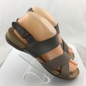 Naturalizer Agrata Faux Leather Sandals size 7.5 W